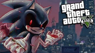 GTA 5 Mods - EVIL SONIC.EXE MOD (GTA 5 PC Mods Gameplay)
