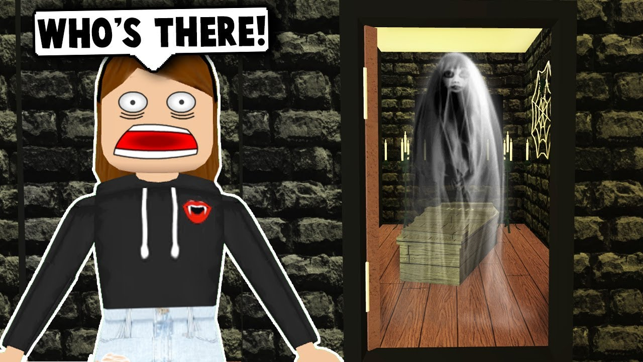 I Spent 24 Hours In Someones House Roblox Bloxburg Youtube - I Spent 24 Hours In A Haunted House Roblox Bloxburg Roblox