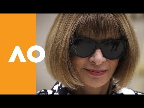 Anna Wintour gives inspiration to players at the AO | Australian Open 2019
