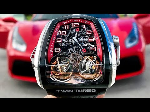 Twin Turbo Tourbillon by Jacob & Co - An Amazing Watch!