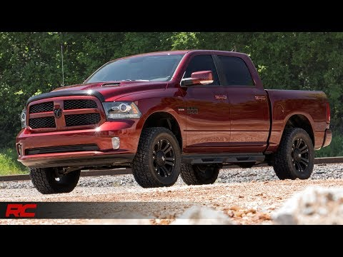 2012-2017 Ram Trucks 3-inch Upper Control Arm Suspension Lift Kit by Rough Country