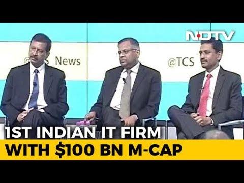 TCS Hits $100 Billion Milestone, Trumps Accenture In Market Value