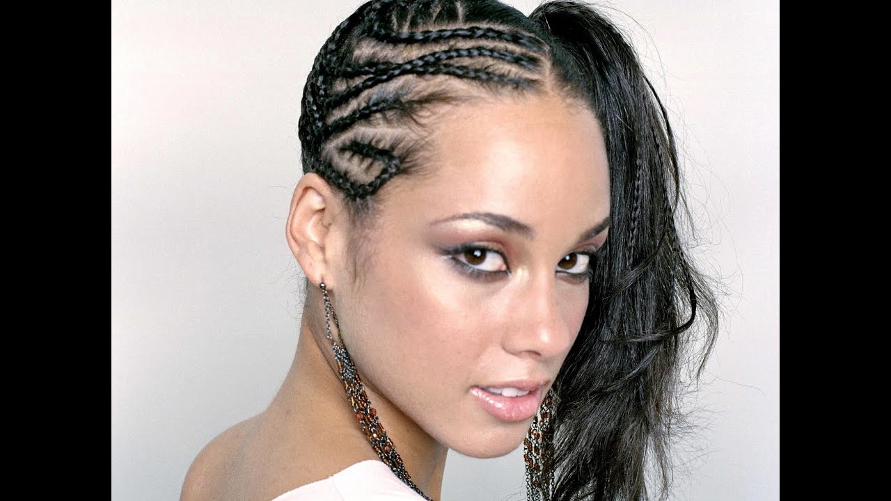 Natural Braids Alicia Keys Remix {Tutorial}  YouTube - Black Hairstyles For Women