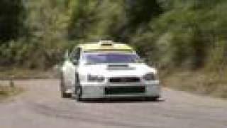 Extreme WRX Sti Rally car