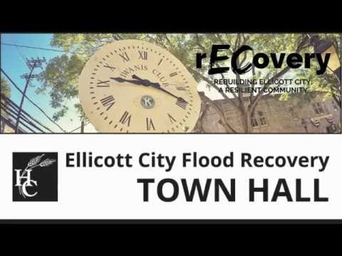 Ellicott City Flood Recovery Town Hall   September 14, 2016