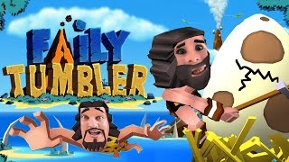 WE FELL OFF A MOUNTAIN!!! Faily Tumbler Gameplay