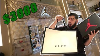 HYPEBEAST SHOPPING IN DUBAI (WORLDS BIGGEST MALL)