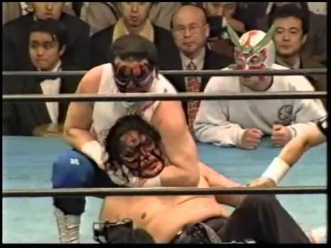 6  Great Kabuki & Keizo Matsuda & Keisuke Yamada vs  Takeshi Ishikawa & Shigeo Okumura & Kishin Kawa