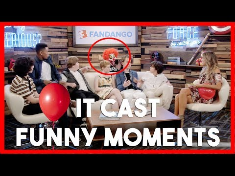 IT Movie Cast s  Funny Moments