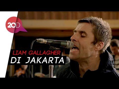 Tiba di Jakarta, Liam Gallagher Gegerkan Medsos!