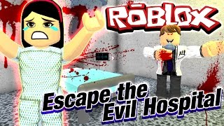 Roblox Escape the Evil Hospital Obby - Why do you have random obsticle courses?!?! - Dollastic Plays