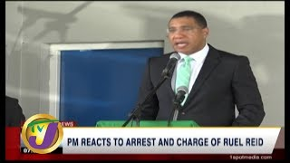 TVJ News: PM Reacts to Arrest & Charge of Ruel Reid - October 13 2019