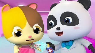❤ Little Doctor - Panda's Hospital | Nursery Rhymes | Kids Songs | BabyBus