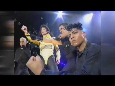 Michael Jackson Wanna be starting something Live in Dangerous World Bucharest 1992