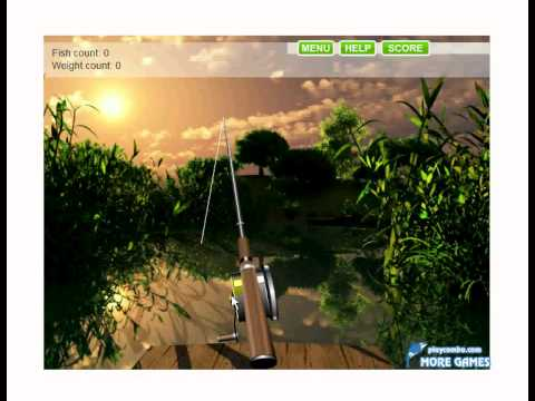 Lake fishing game youtube for Lake fishing games