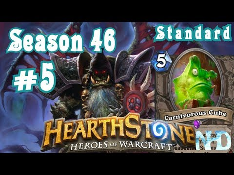 Let's Play Hearthstone (S46) Standard Ranked vs Mage Death do us apart