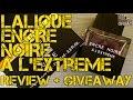 LALIQUE Encre Noire A L'Extreme Review   FRAGRANCE REVIEW