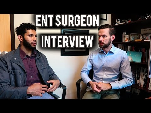 ENT Surgeon Interview | Otolaryngology Doctor Day In The Life, Ear Nose Throat Surgery Lifestyle