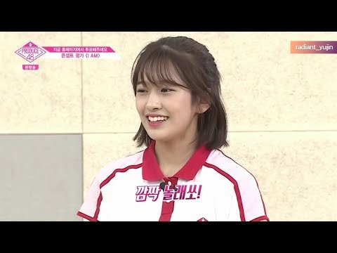 [ENGSUB] Ahn Yujin/안유진 + I AM Team | PRODUCE48 Ep.9 All Cut