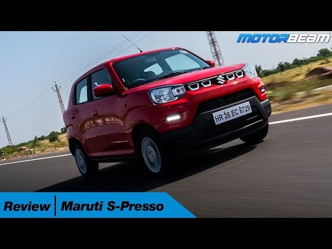 Maruti S-Presso Review - Funky Small Car | MotorBeam