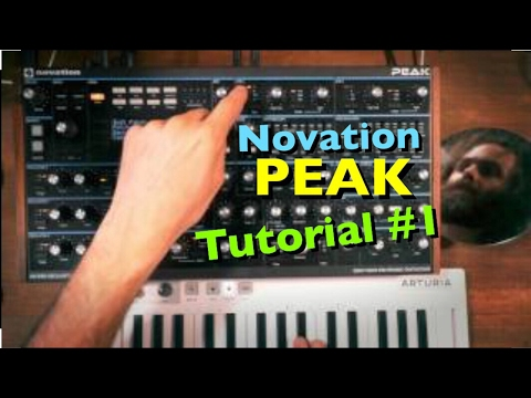 Novation Peak Sound Design Tutorial #1 (in 4k)