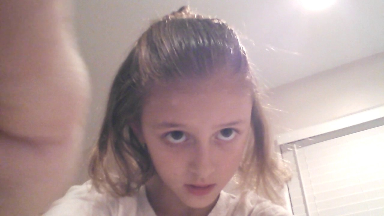 Cute Hairstyle For Nine Years Old Youtube