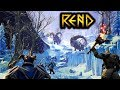 Exploring The Icy Mountains of Frystfel - Rend Survival Gameplay Part 12 (Fur & Cloth Armor Upgrade)