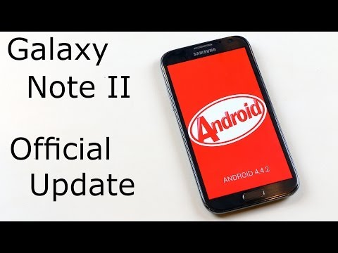 Galaxy Note 2 - How to install Official Android 4.4.2 KitKat