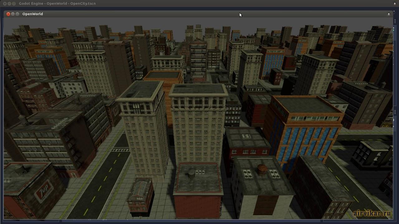Godot Engine 3 0: Procedural City Generator (City Planning) by Airvikar