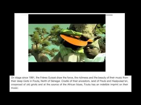 Freres Guisse groupe de musique du Senegal