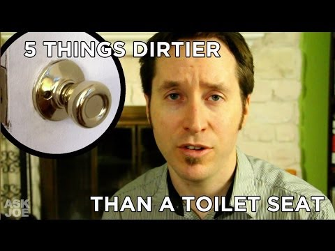 Ask Joe #20 - 5 Common Items That Are Dirtier than a Toilet Seat