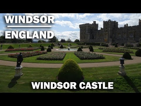 A Walk around the beautiful Windsor Castle setting for the Royal wedding
