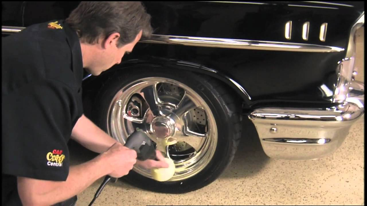 How To Polish Aluminum Wheels >> Meguiars Wheel Polishing Tips.mov - YouTube