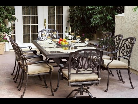 Outdoor Furniture Ideas - 10 Great Patio Furniture Dinning Sets