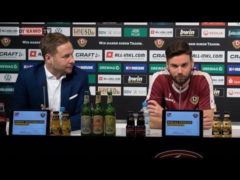 14. Spieltag   HSV - SGD   Pressekonferenz vor dem Spiel