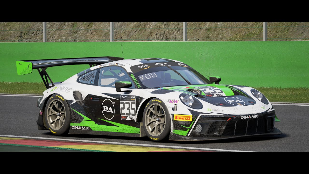 Assetto Corsa Competizione Need to work on my SPA Setup/ Mulitplayer CP Online GT3 & GT4