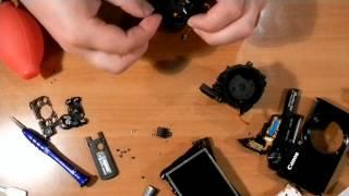 Ремонт фотоаппарата Canon PowerShot S90 часть 2я(В этом видео рассказывается, как разобрать-собрать объектив, поменять дисплей LCD и конечная сборка аппарата., 2014-04-16T08:24:55.000Z)