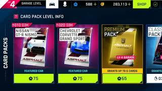 #Asphalt9 #Legends Buying the Chevrolet Corvette Grand Sports Pack....Insane Car Pack Won