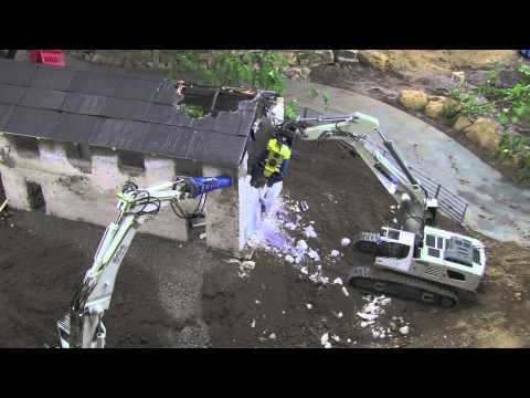 RC Excavators in Demolition Mode  - PART 2