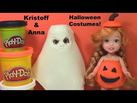 Frozen Play Doh Anna Kristoff Halloween Costume Play Dough Ghost