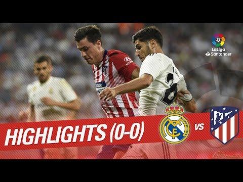 Resumen de Real Madrid vs Atlético de Madrid (0-0)