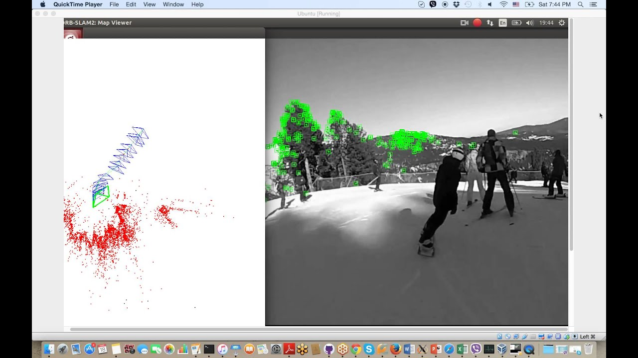 slam for gopro video  opencv  c  c    orb-slam