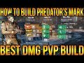THE DIVISION 1.8 - HOW TO BUILD PREDATOR'S MARK 6 PIECE THE RIGHT WAY - BEST DAMAGE PVP BUILD