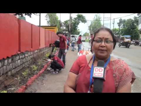 Youths in Bhopal inspire people for Swachh Bharat Mission