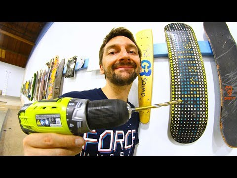 THE BRAILLE SKATEBOARDING WALL OF FAME