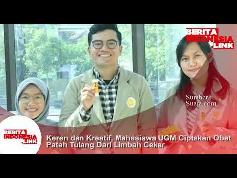 Mahasiswa UGM ciptakan obat patah tulang dari limbah ceker, keren dan kreatif!!