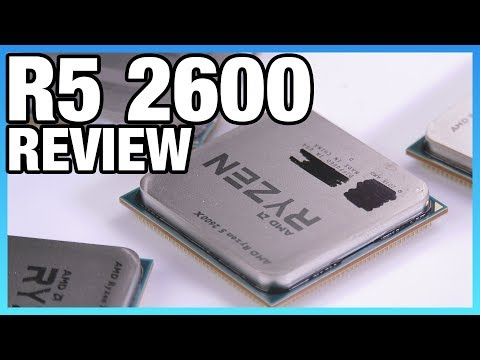 AMD R5 2600 & 2600X Review   Stream Benchmarks, Gaming, Blender
