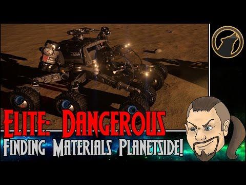 Elite: Dangerous Horizons - Finding Materials Planetside! [Tutorial]
