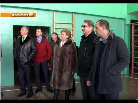 Глава района побывал в Первомайском муниципальном образовании