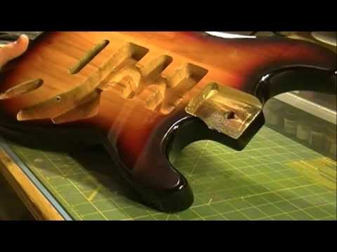 Guitar Modifications rockaudio paulownia stratocaster guitar body three color burst